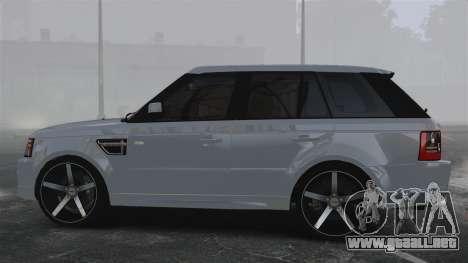 Range Rover Sport Autobiography 2013 Vossen para GTA 4 left