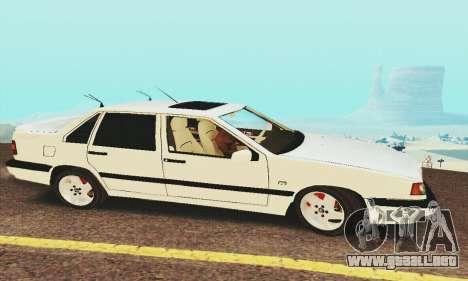 Volvo 850 para GTA San Andreas vista posterior izquierda