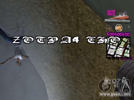 C-HUD by Kerro Diaz [ Ballas ] para GTA San Andreas quinta pantalla