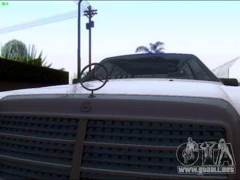Mercedes-Benz E-Class W124 para visión interna GTA San Andreas