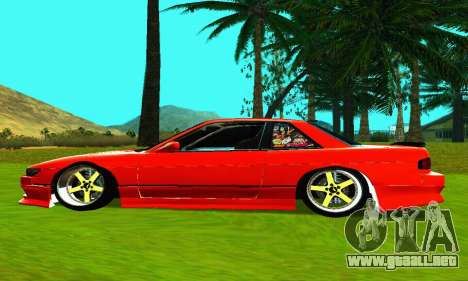 Nissan Silvia S13 HellaDrift para GTA San Andreas left