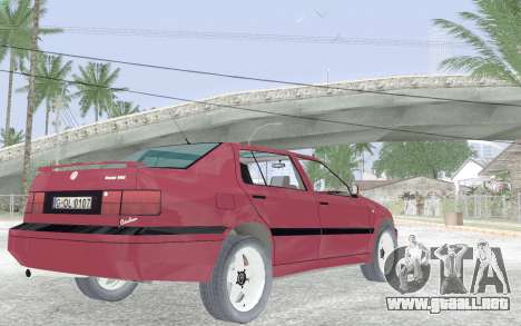Volkswagen Vento para la visión correcta GTA San Andreas