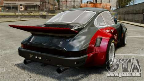 Porsche 911 RSR 3.3 para GTA 4 Vista posterior izquierda