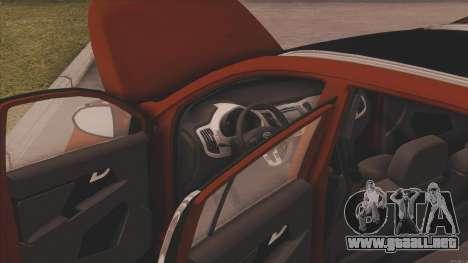 Kia Sportage para la visión correcta GTA San Andreas