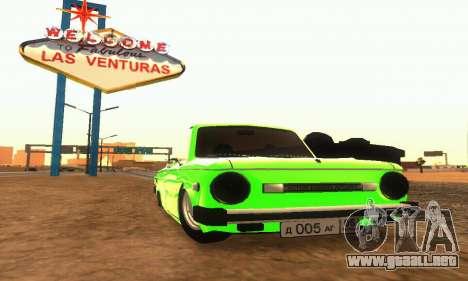 ZAZ 968 Cabriolet Tuning para GTA San Andreas left