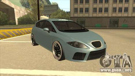 Seat Leon Clean Tuning para GTA San Andreas left