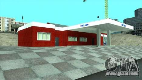 Nuevo garaje en Doherty para GTA San Andreas quinta pantalla