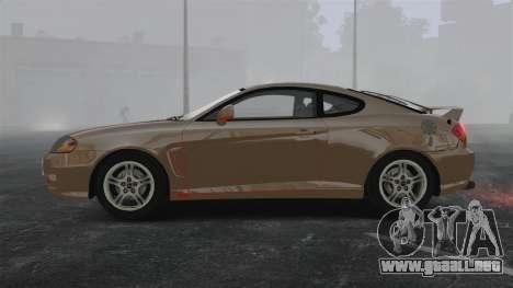 Hyundai Tiburon para GTA 4 left