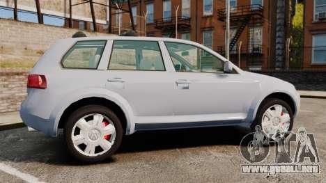 Volkswagen Touareg 2002 para GTA 4 left