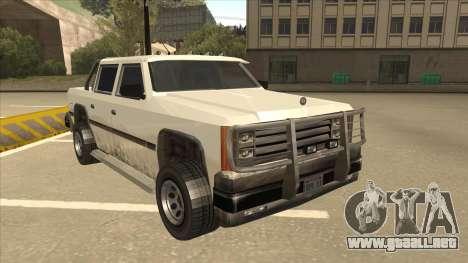 Declasse Rancher FXT para GTA San Andreas left