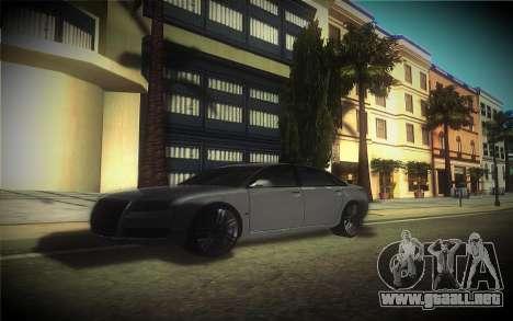 Audi A8L D3 para visión interna GTA San Andreas