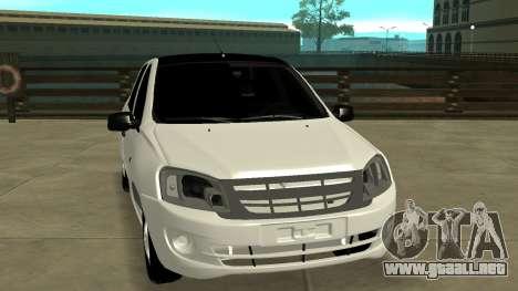 Lada Grant para GTA San Andreas vista hacia atrás