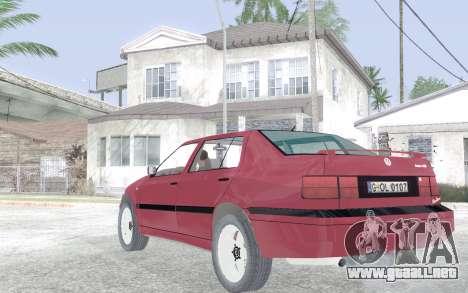 Volkswagen Vento para GTA San Andreas vista posterior izquierda