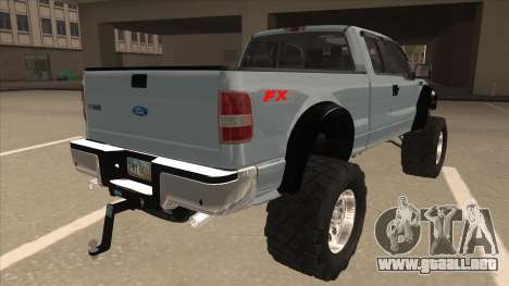 Ford F-150 EXT Off Road 2007 para la visión correcta GTA San Andreas