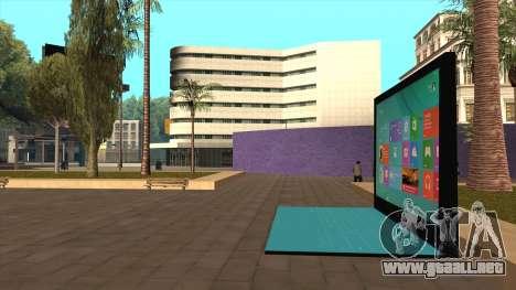 Superficie gigante 2 de Londres para GTA San Andreas segunda pantalla
