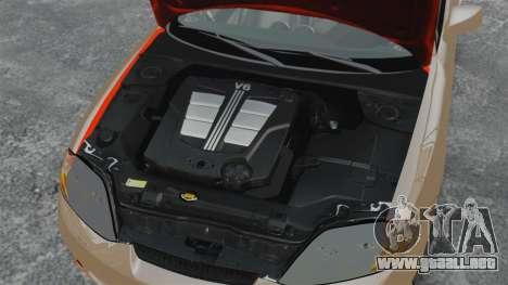 Hyundai Tiburon para GTA 4 vista interior