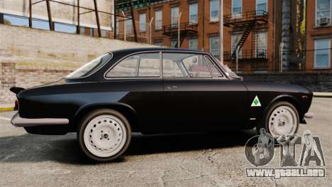 Alfa Romeo Giulia 1965 Sprint GTA Stradale para GTA 4 left
