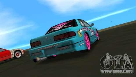 Nissan Silvia S13 Drift Works para GTA Vice City left