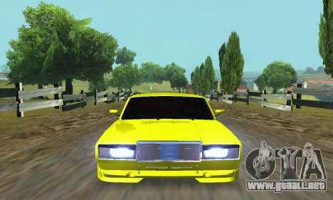 VAZ 2107 VIP para la vista superior GTA San Andreas