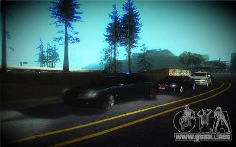 Audi A8L D3 para la vista superior GTA San Andreas