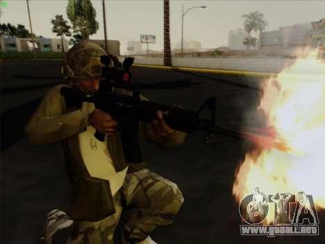 Casco de Call of Duty MW3 para GTA San Andreas