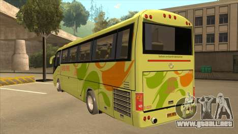Higer KLQ6129QE - Super Five Transport S 023 para GTA San Andreas vista hacia atrás