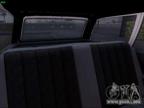 Mercedes-Benz E-Class W124 para la vista superior GTA San Andreas