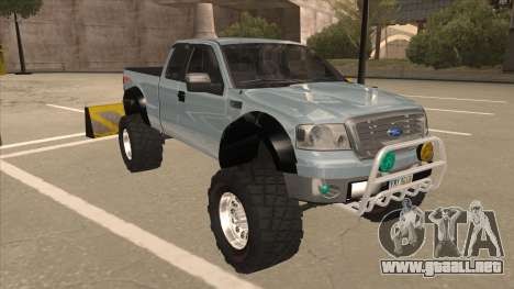 Ford F-150 EXT Off Road 2007 para GTA San Andreas left