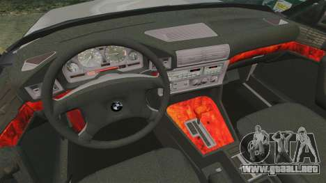 BMW 535 E34 Touring para GTA 4 vista lateral