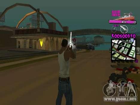 C-HUD by Kerro Diaz [ Ballas ] para GTA San Andreas segunda pantalla