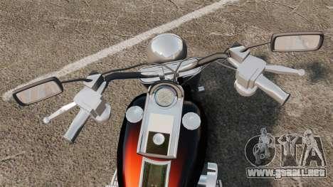 Harley-Davidson para GTA 4 visión correcta