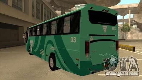 Holiday Bus 03 para GTA San Andreas vista hacia atrás
