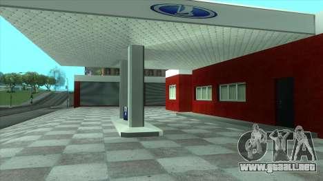 Nuevo garaje en Doherty para GTA San Andreas segunda pantalla