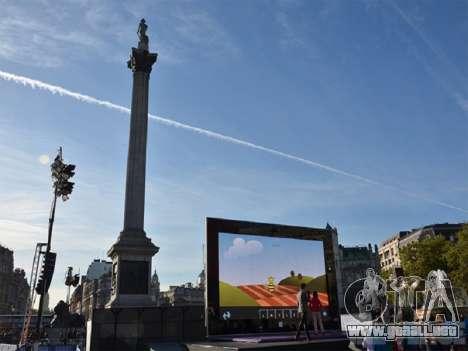 Superficie gigante 2 de Londres para GTA San Andreas sucesivamente de pantalla