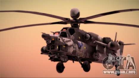 Mi-28N Havoc para la visión correcta GTA San Andreas