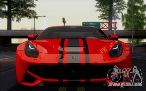 FF TG ICY ENB V2.0 para GTA San Andreas quinta pantalla