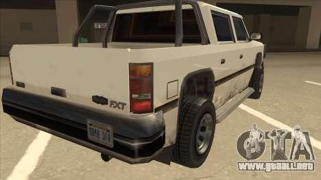Declasse Rancher FXT para la visión correcta GTA San Andreas