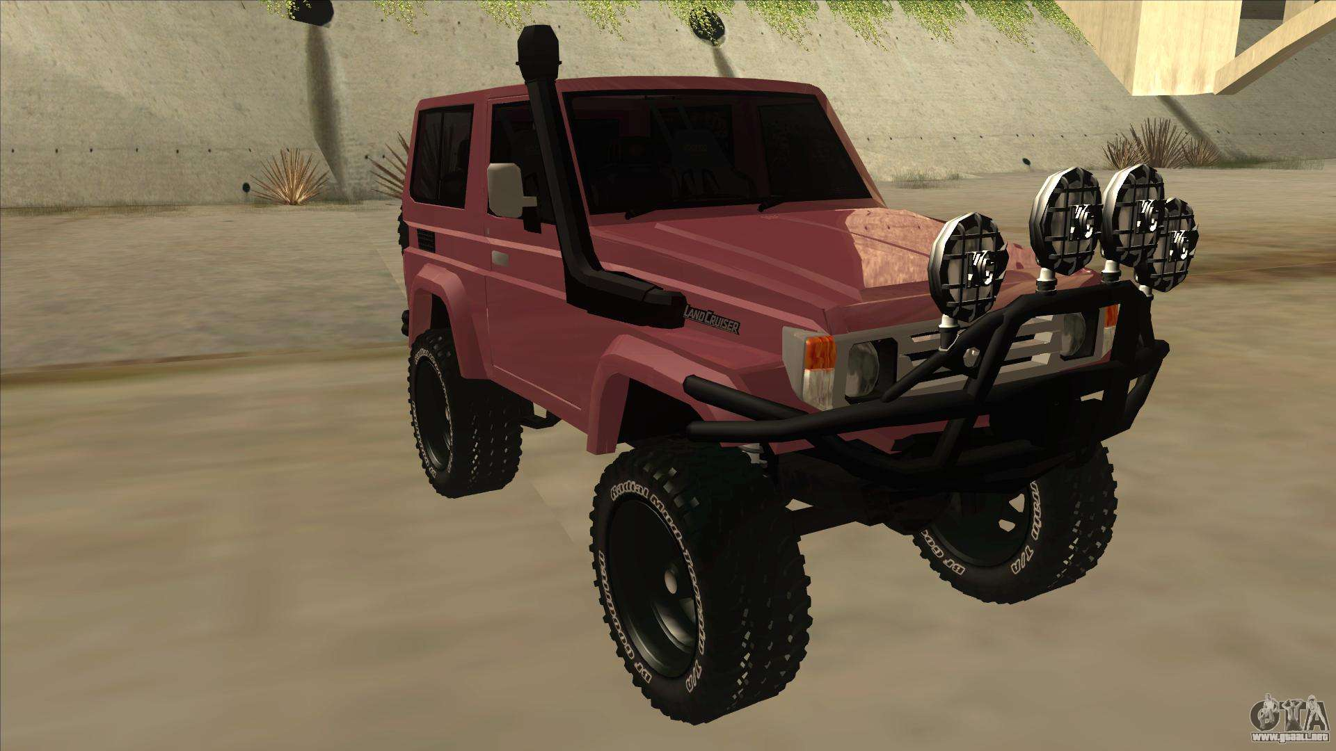 Toyota Machito Fj70 2009 V2 para GTA San Andreas