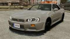 Nissan Skyline R34 para GTA 4