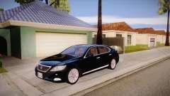 Lexus LS 600h L para GTA San Andreas