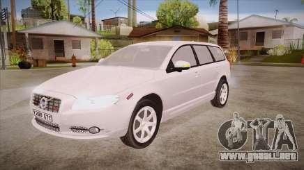 Volvo V70 Unmarked Police para GTA San Andreas