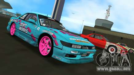 Nissan Silvia S13 Drift Works para GTA Vice City