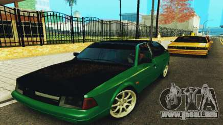 2141 AZLK negro Tuning para GTA San Andreas