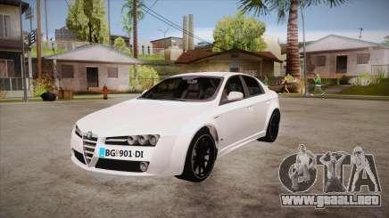 Alfa Romeo 159 para GTA San Andreas
