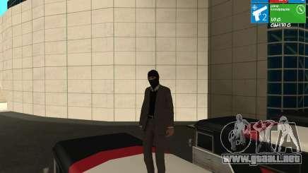 El ladrón de bancos para GTA San Andreas