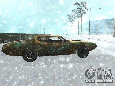 Ford Torino Rusty para GTA San Andreas left