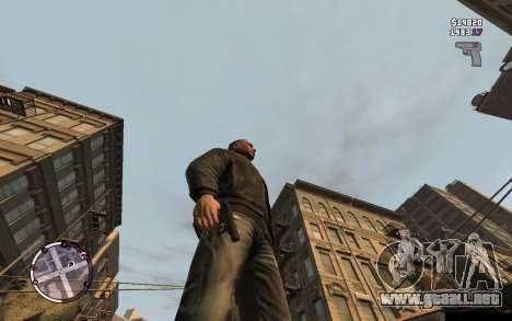 Pistola Makarov para GTA 4 segundos de pantalla