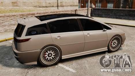 Dinka Honda Odyssey JDM Version para GTA 4 left