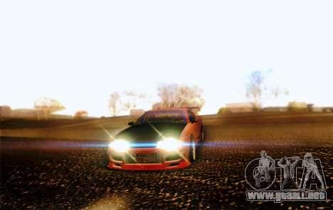 Elegy Drift Concept para visión interna GTA San Andreas