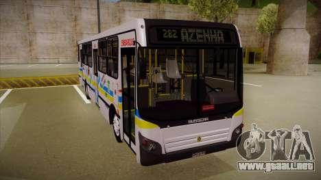 Busscar Urbanuss Ecoss MB OF 1722 M Porto Alegre para GTA San Andreas left